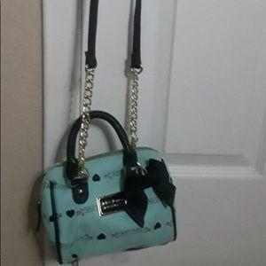 Betsey Johnson shoulder crossbody bag